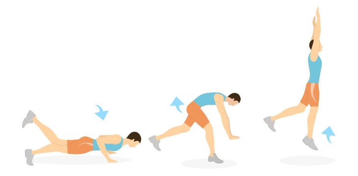 Burpee para atletas