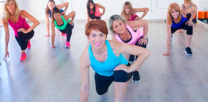 Clase de aerobic