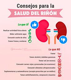 Consejos para cuidar tus riñones