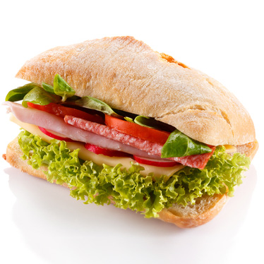 Bocadillo vegetal