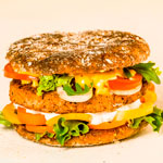 Hamburguesa de freekeh