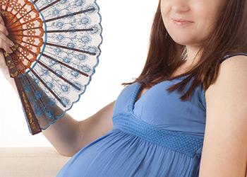 Calor en el embarazo