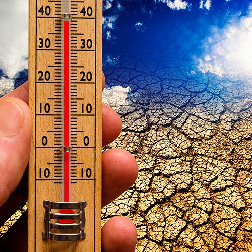 Aumento de las temperaturas