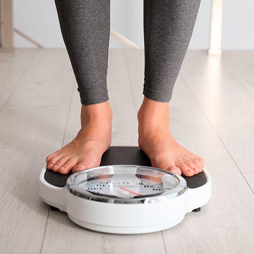 Cambios en el peso