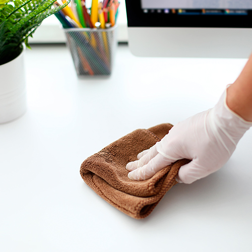 Limpiar superficies para prevenir el coronavirus