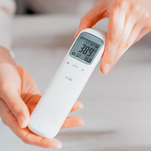 Tomar la temperatura