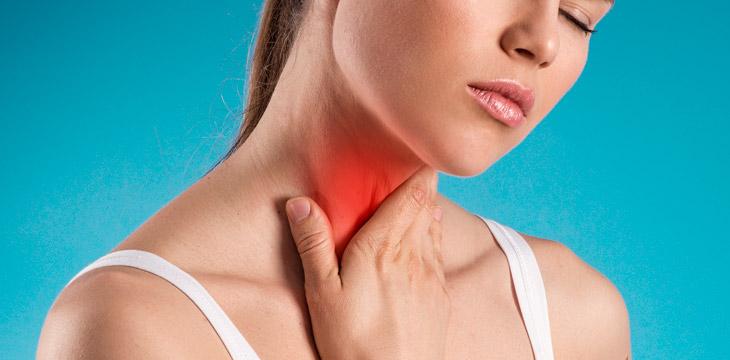 Tratamiento del dolor de garganta