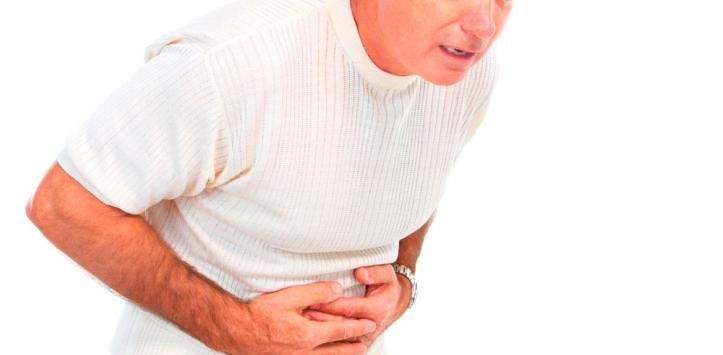 Afectado por úlcera