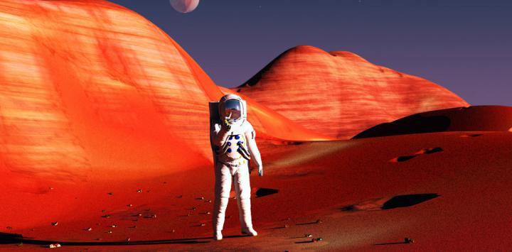 La dieta de los astronautas: objetivo Marte