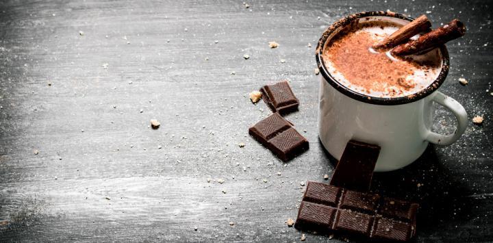 4. Leche con cacao puro