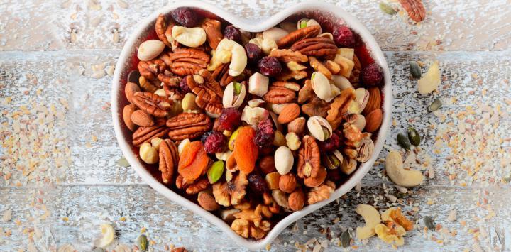 1. Mezcla de frutos secos
