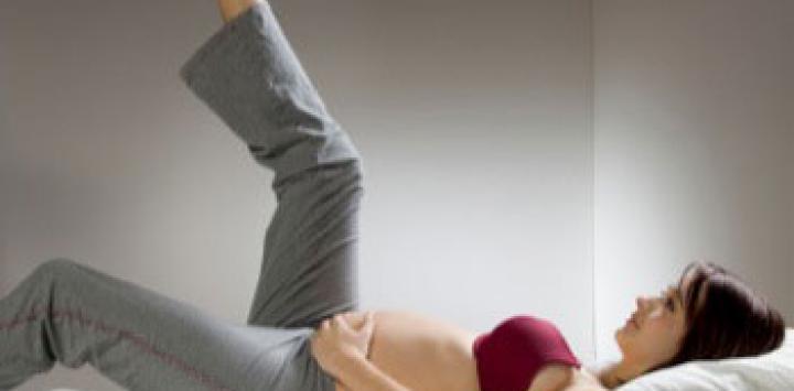 Los cirujanos recomiendan controlar las varices durante el embarazo
