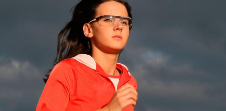 Crean unas gafas que miden la actividad deportiva