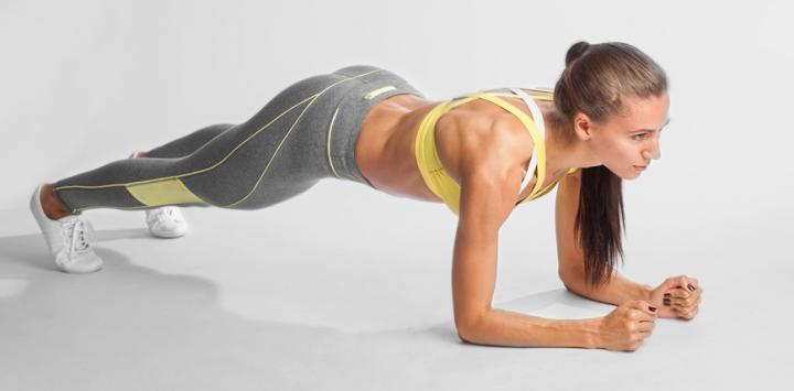 Planchas isométricas, el mejor ejercicio para los abdominales