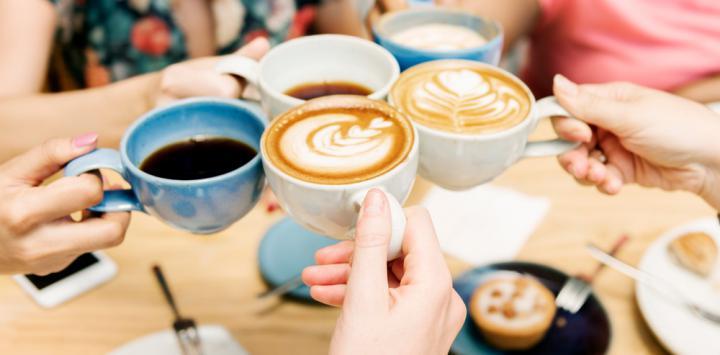 Tomar tres cafés cada día reduce hasta un 18% el riesgo de muerte