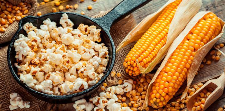 8. Palomitas de maíz caseras