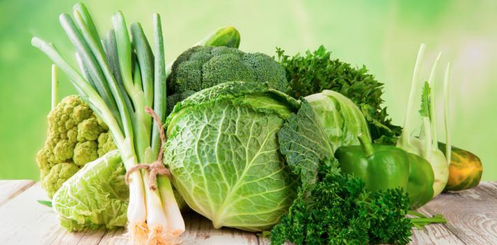 10. Verduras verdes