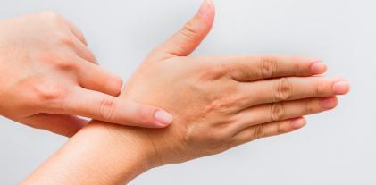Cicatriz en la mano