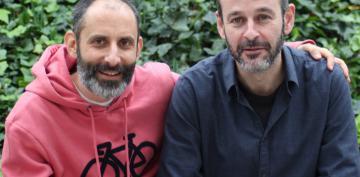 Julio Basulto y Juanjo Cáceres