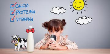 Tomar leche de vaca podría ayudar a los niños a ser más altos