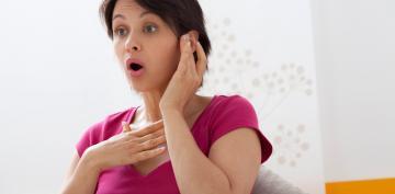 Mujer con Esclerosis Múltiple