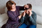 Niño sufre migraña