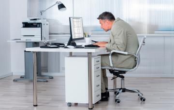 Riesgos de trabajar sentado