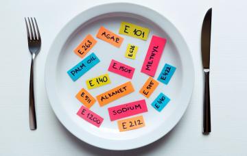 Reacciones alérgicas a los aditivos alimentarios