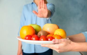 Alérgenos de la fruta