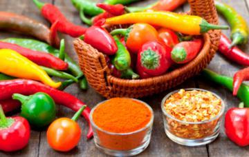Alimentos termogénicos