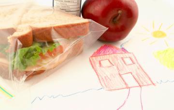 Almuerzos y meriendas saludables para los niños