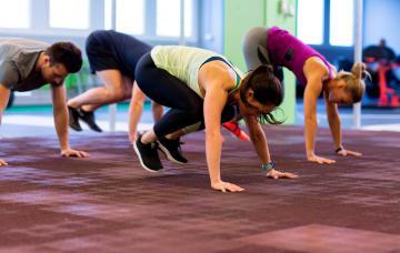 Burpees: trabaja tus músculos y quema calorías