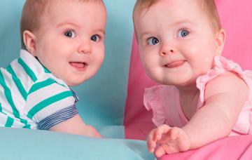 Estereotipos de género: niños de azul, niñas de rosa