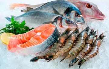 Pescados y mariscos, alimentos característicos de la dieta atlántica