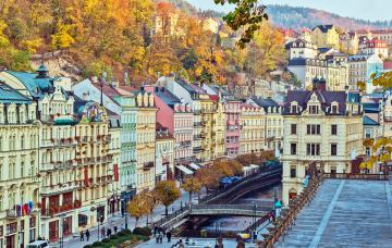 Karlovy Vary, ciudad balneario en el corazón de Bohemia