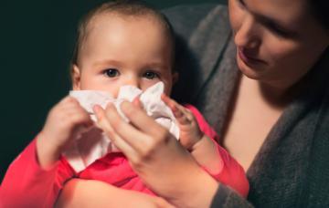 Mocos en bebés y niños: soluciones para eliminarlos