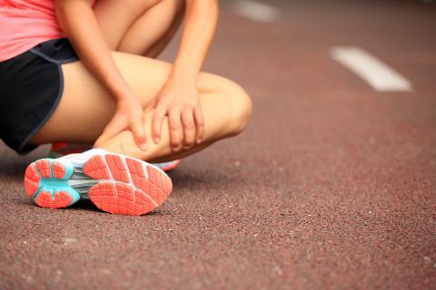 Deportista ha sufrido una lesión