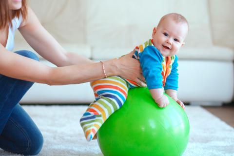 Ejercicio para bebés lactantes