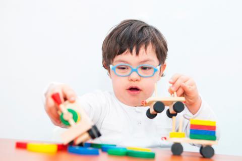 Juegos y juguetes para niños con síndrome de Down