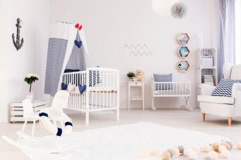 Qu necesitas para la habitaci n de tu beb beb s y ni os for Organizacion de la habitacion del bebe
