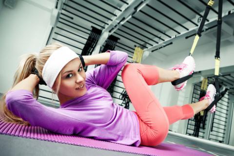 Practicar trx en el gimnasio ejercicio y deporte for Articulos para gimnasio