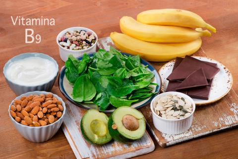 Resultado de imagen para vitamina b9