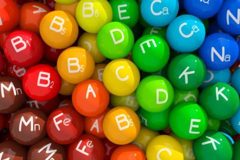 Clasificación de las vitaminas: hidrosolubles y liposolubles
