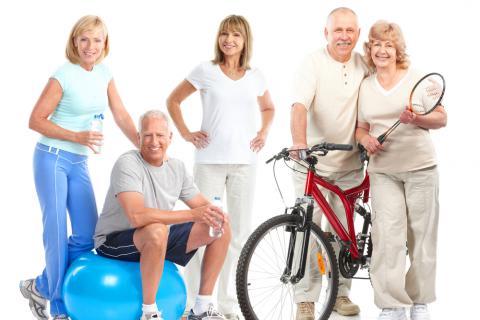 Por qu hacer ejercicio en la tercera edad ejercicio y for Porte y actitud