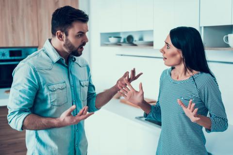 Resultado de imagen para emociones discusión pareja