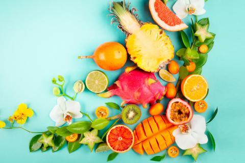 Frutas tropicales sabrosas y saludables dieta y nutrici n - Frutas tropicales y exoticas ...