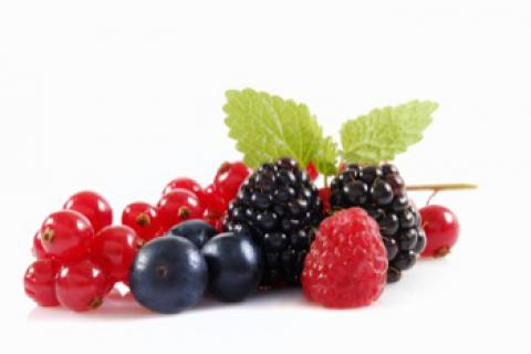 Frutos rojos: composición nutricional y propiedades