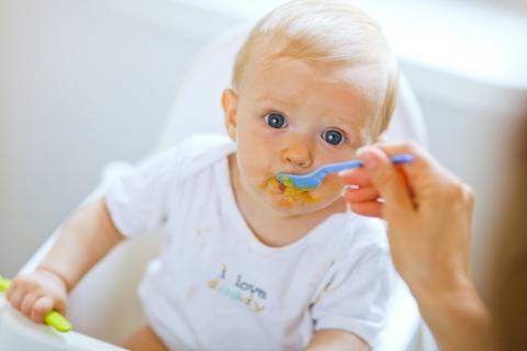 Nutrición en lactantes
