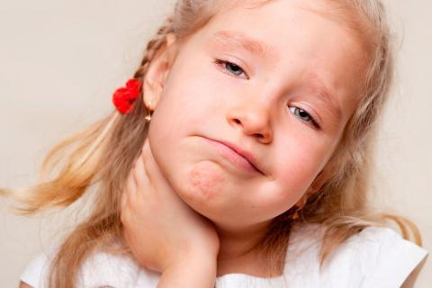 Amigdalitis en la infancia