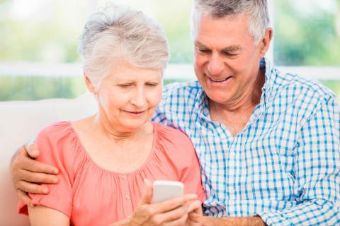 Aplicaciones móviles para la tercera edad